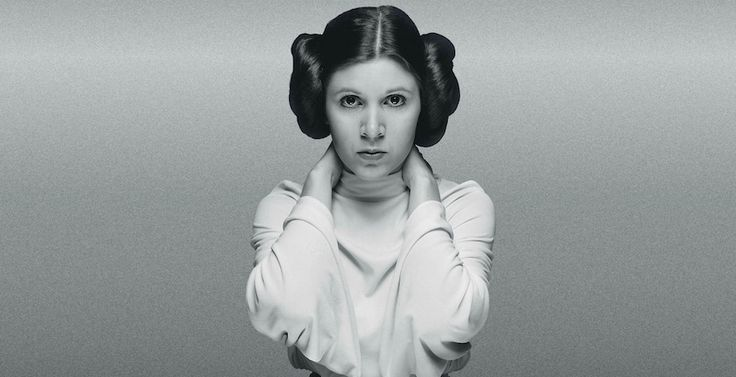 Wishing a speedy recovery to everyone's favourite Princess, Carrie Fisher. #nonagonthree #getwellsoonpricessleia