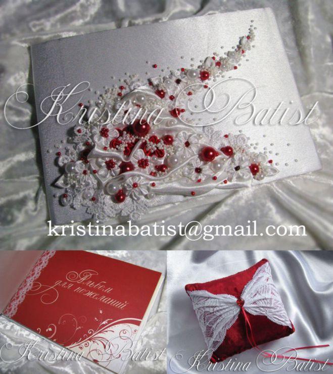 Gallery.ru / Фото #13 - Свадебные альбомы для пожеланий,папки свидетельства о браке - KristinaBatist