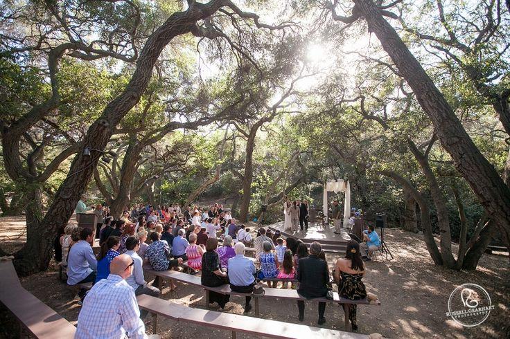 Southern California Wedding Venues Oak Canyon Nature Center