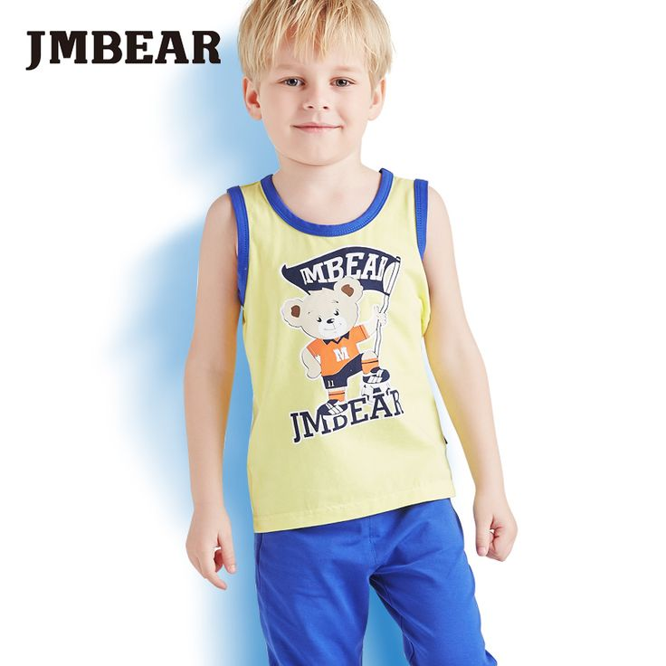 Find More Clothing Sets Information about JMBear Brand new 2016 summer clothing sets cotton kids pants + vest sleeveless top boys girls  kids clothes children tracksuit,High Quality clothing spain,China clothing gift Suppliers, Cheap tracksuit bottom from JMBEAR Specialty store on Aliexpress.com