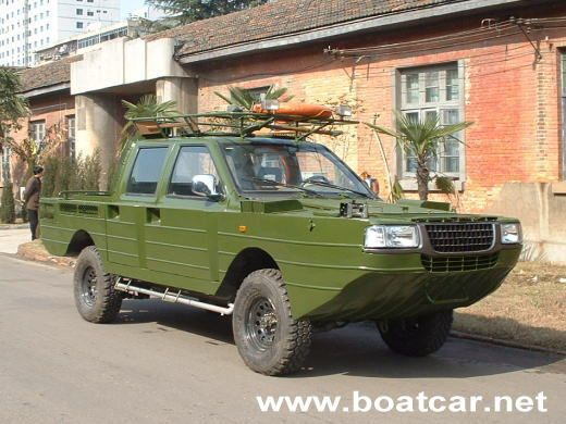 Amphibious Vehicle Dsign Studio¡¡JMC Amphibious Pickup1
