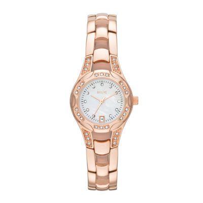 Relic® Ladies Charlotte Rose Gold Bracelet Watch