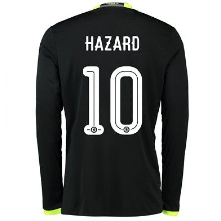 Chelsea 16-17 Eden #Hazard 10 Bortatröja Långärmad,304,73KR,shirtshopservice@gmail.com