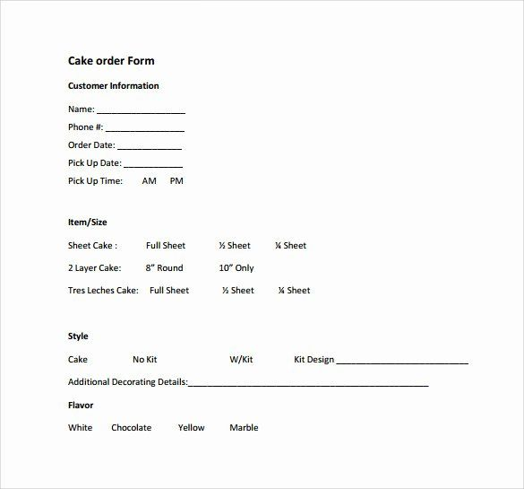 30 Special Order Form Template In 2020 Funeral Program