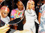 Nicki Minaj seen for the first time since her brother was jailed for raping a child