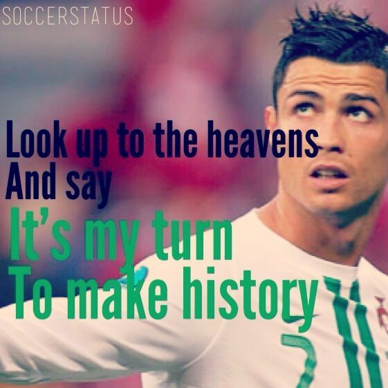 Ronaldo Quotes About Soccer .