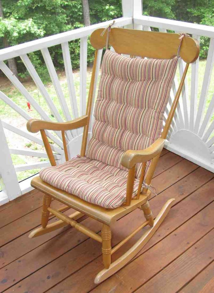 Outdoor Rocking Chair Cushion Sets Outdoor rocking chair