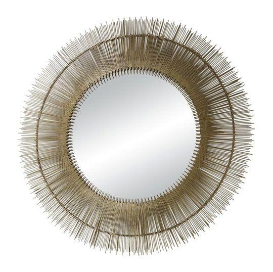 Kaden Mirror  Transitional, Mirror, Metal, Mirror by Mr Brown London
