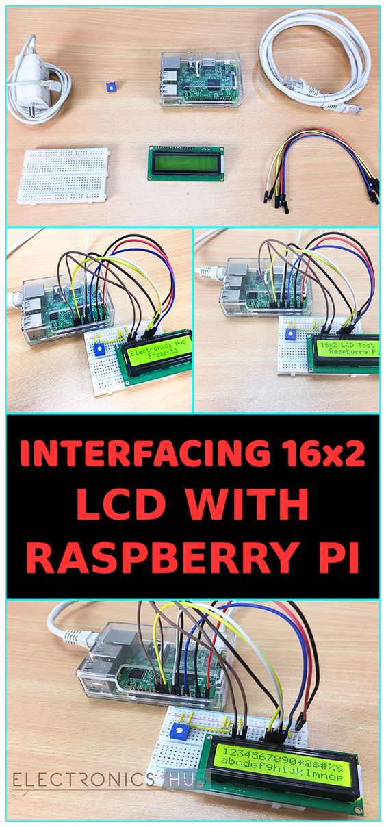 Interfacing 16x2 LCD with Raspberry Pi using Python | electronics