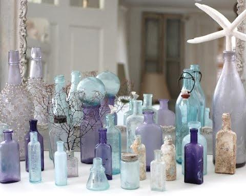 barnacle bottles: Hand, Bottle Collection, Vintage Bottles, Blue, Barnacle Bottles, Glass Bottles, Photo, Old Bottles