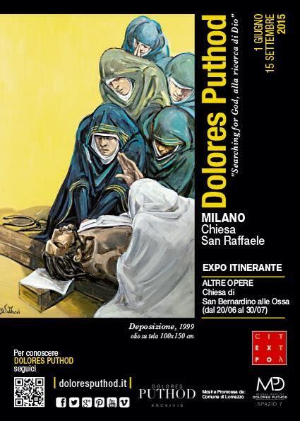 Chiesa di San Raffaele Milano EXPO 2015 searching for God opere scelte di Dolores Puthod