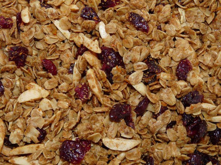 Yum... I'd Pinch That! | Orange Cranberry Granola