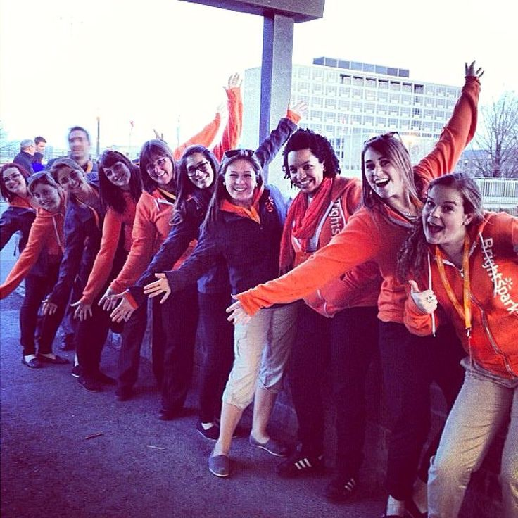 #wbw our Tour Leaders showing off their excitement for another great season! #GoDiscoverInspire  📷 @tourleadercharmaine  .  .  .  .  .  #brightsparktravel #travel #studenttravel #explore #tourleader #orange #fun #travelphotography #waybackwednesday #explorecanada #fall
