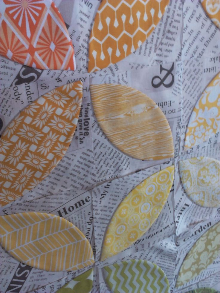 Crazy Old Ladies Quilts: Orange You Glad- a tutorial. Perfect applique every time.