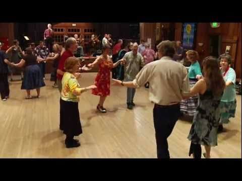 (76) The Auctioneer square dance - YouTube