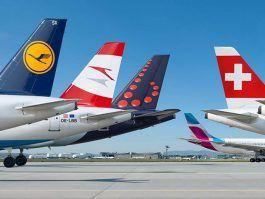 Ahora vas y lo caskas: El grupo Lufthansa: cerca de 10 millones de pasaje...