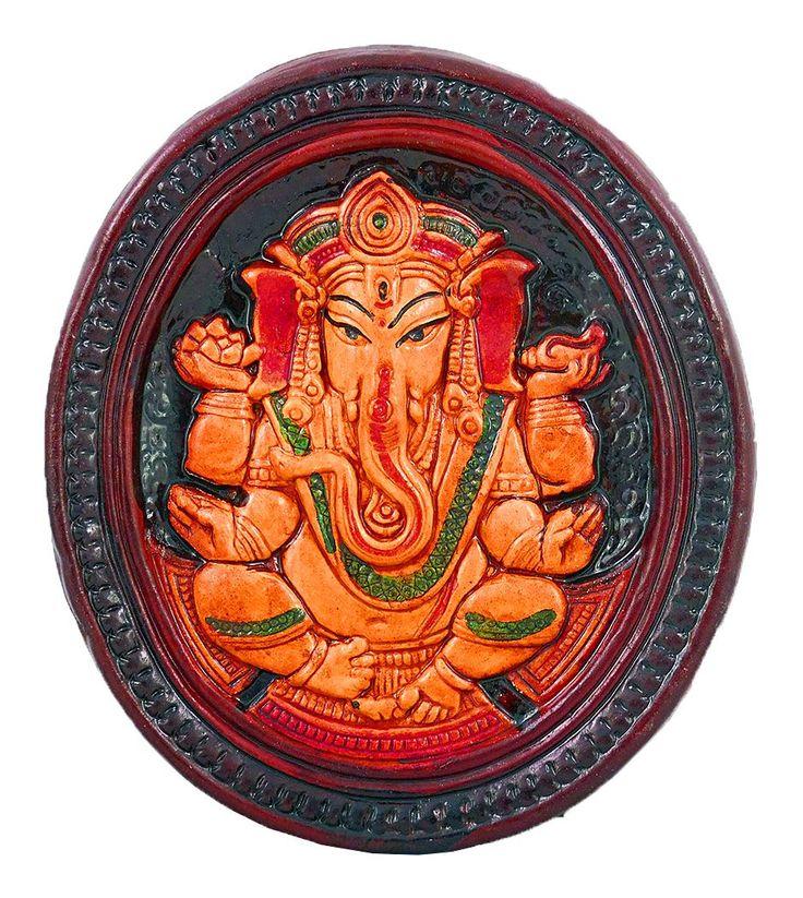 Lord Ganesha - Wall Hanging (Terracotta)