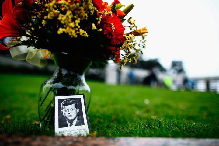 Somber nation marks 50th anniversary of JFK death