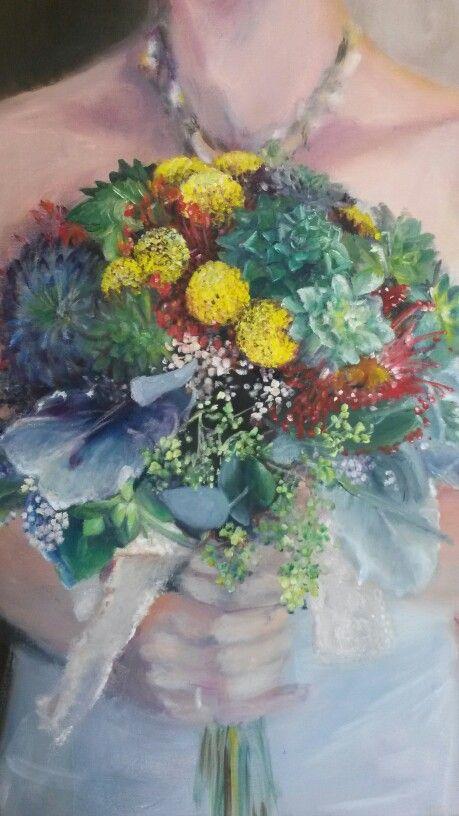 """""""Sandra's painting"""", Gesie MM, 2013"""