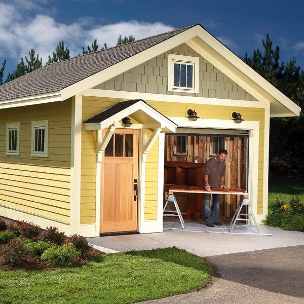 The 25 Best Detached Garage Designs Ideas On Pinterest: 108 Best Images About Garage Ideas On Pinterest