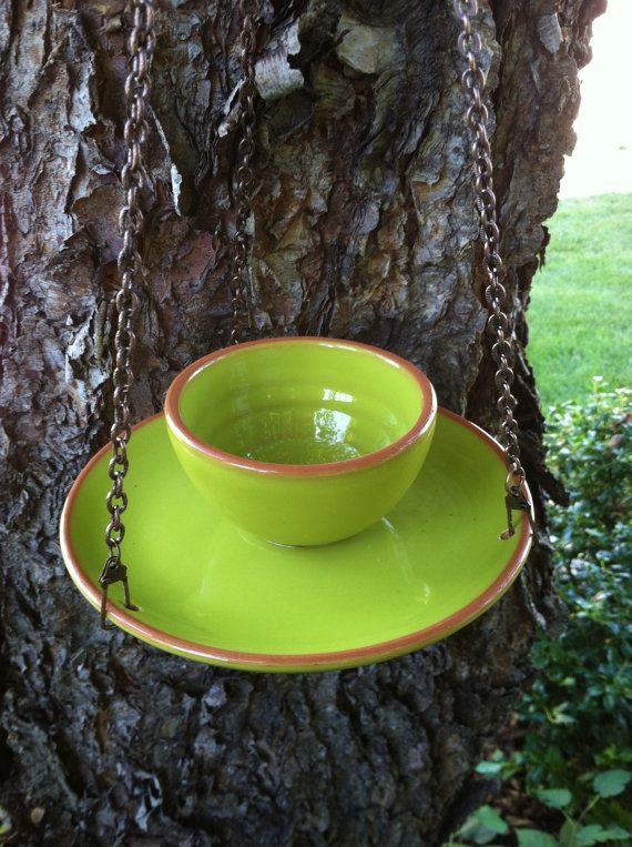 Bird feeder hanging bird feeder southwestern bird by DotnBettys, $22.00
