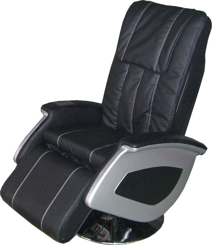 Black leather massage chair - definately needed for a Friday night!