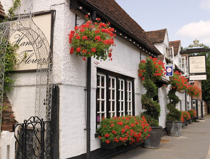The Hand & Flowers, Marlow, England.