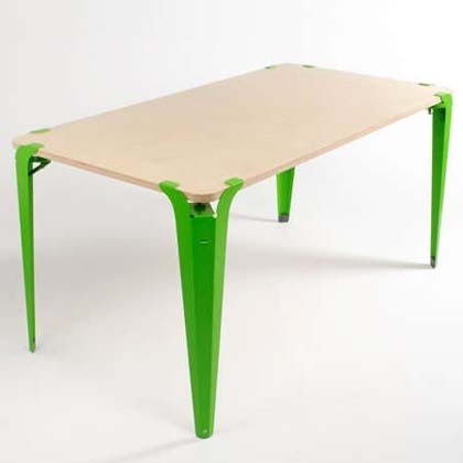 Clamped Table by Ryan Sorrel.