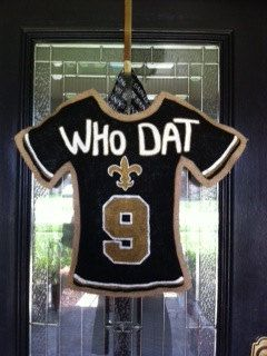 Football Jersey Burlap Door Hanger by LittleTicklebug on Etsy, $40.00