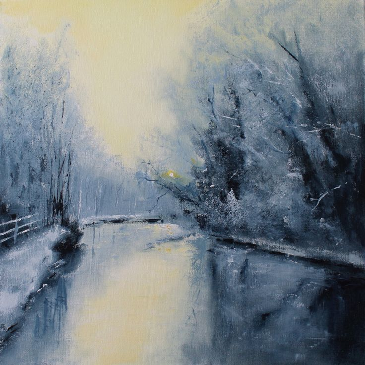 Oil painting 50x50cm by Dan Wellington
