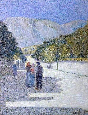 Léon Pourtau  - Paysage provençal