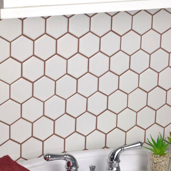 25+ Honeycomb mosaic wall tile ideas