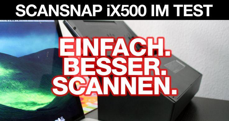 ScanSnap iX500 Scanner im Test: Einfach besser scannen! - http://apfeleimer.de/2014/03/scansnap-ix500-scanner-im-test-einfach-besser-scannen - Stichwort Paperless & papierloses Büro – der Fujitsu ScanSnap iX 500 im Test: ein Scanner für Profis! Wer auf der Suche nach einem schnellen, professionellen SOHO Scanner ist (SOHO =Small Office, Home Office) wird sicherlicher über den ScanSnap Scanner iX500 von Fujitsu gestolpert sei...