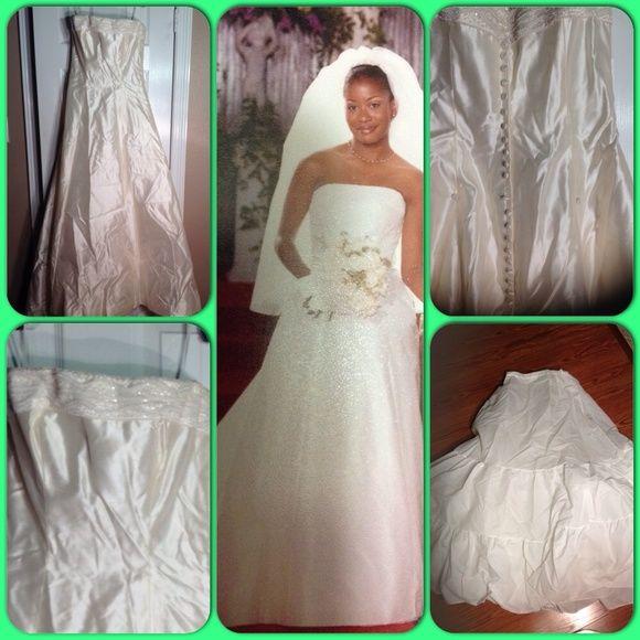 👰Wedding Dress👰 Priscilla of Boston Wedding Dress Dresses