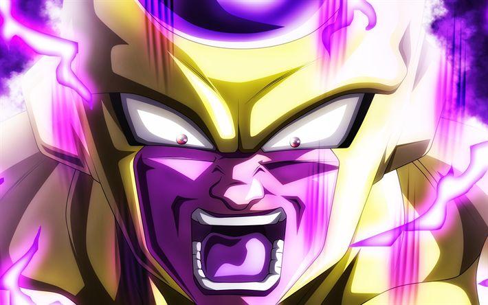Anime Chibi Wallpaper Download Wallpapers 4k Frieza Anger Dragon Ball Fire