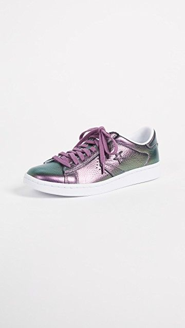 CONVERSE | Pro Leather LP Iridescent Ox Sneakers #Shoes #CONVERSE