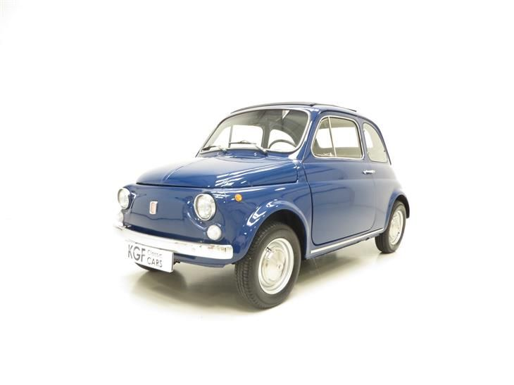 Classic An Adorable Classic Fiat 500L Lovingly Restored... for sale in Peterborough with Classic & Sports Car Classifieds, the UK's best online classic car classifieds.
