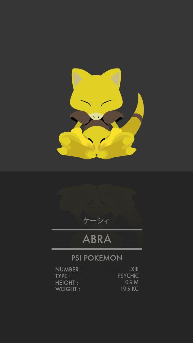 Abra by WEAPONIX.deviantart.com on @DeviantArt