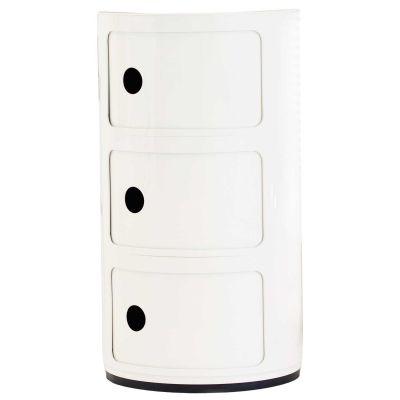 Componibili byggbart oppbevaringssystem fra Kartell, design Anna Castelli FerrieriComponibili er det...