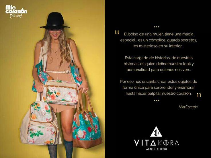 A woman bag has an especial magic #gallery #art #design #miocorazon #lifestyle #fashion #Fedex.  Check  it on www.vitakoradesign.com