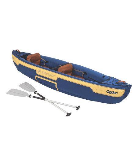 Sevylor Ogden Two-Person Inflatable Canoe Set | zulily