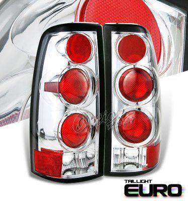 Chevy Silverado 1999-2002 Clear Altezza Tail Lights