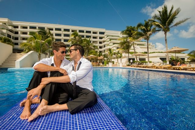 gay wedding honeymoons