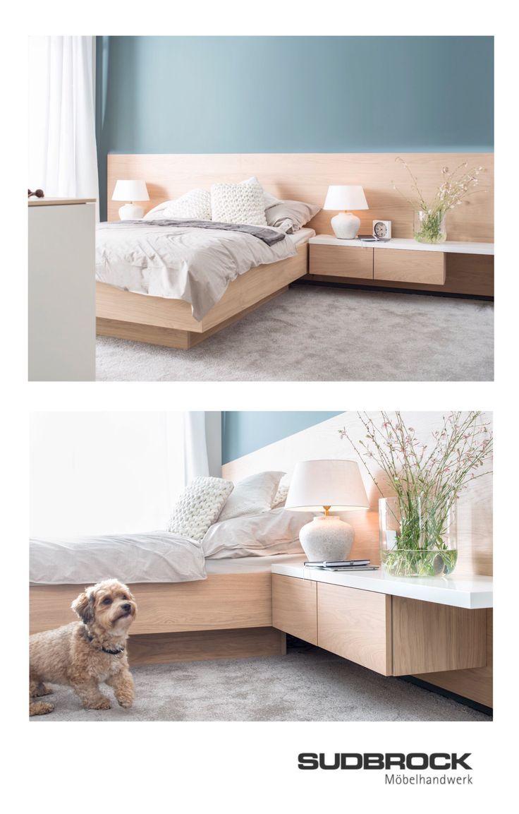 Schlafzimmer Möbel Einrichtung Ideen Modern mit Holz ...