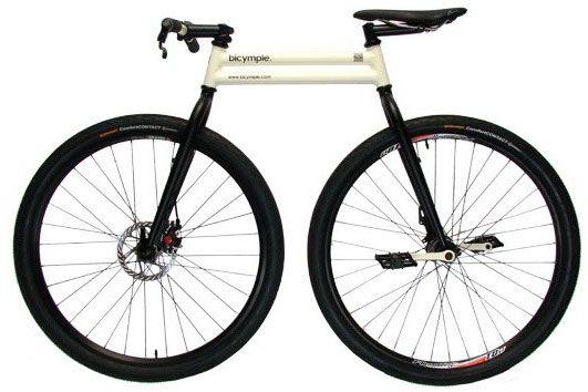 ALLPE Medio Ambiente Blog Medioambiente.org : Bicymple, la bicicleta más sencilla del mundo (sin cadenas)