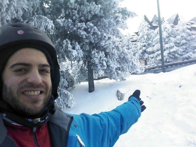 Día 29 de Febrero 2016, después de una gran nevada, disfrutando en Sierra Nevada