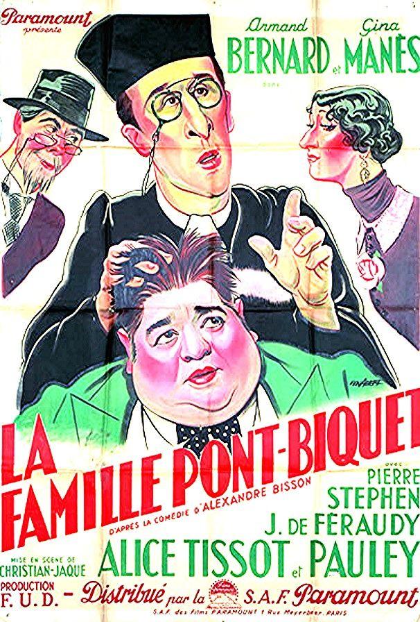 La famille pont biquet en 2020 Cinéma français, Affiche