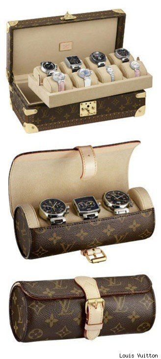 Louis Vuitton Watch Case and Trunk