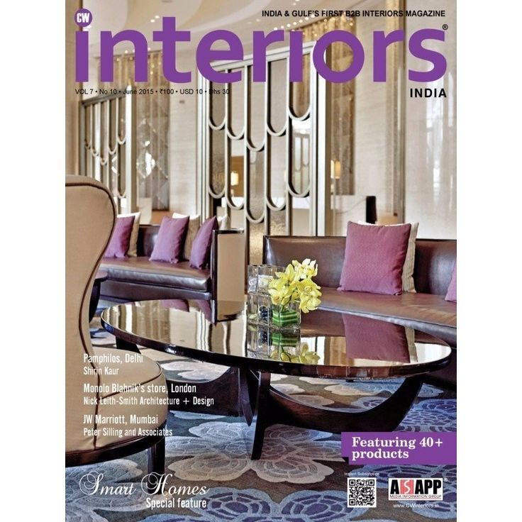 CW Interiors June 2015 Issue Featuring 40 Products Smart Homes Special Feature