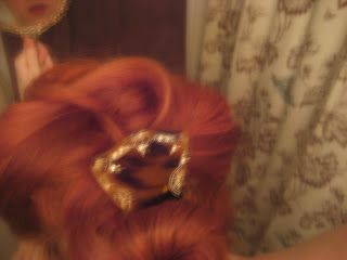 The Seamstress of Avalon: Gibson Girl Hair: A Tutorial